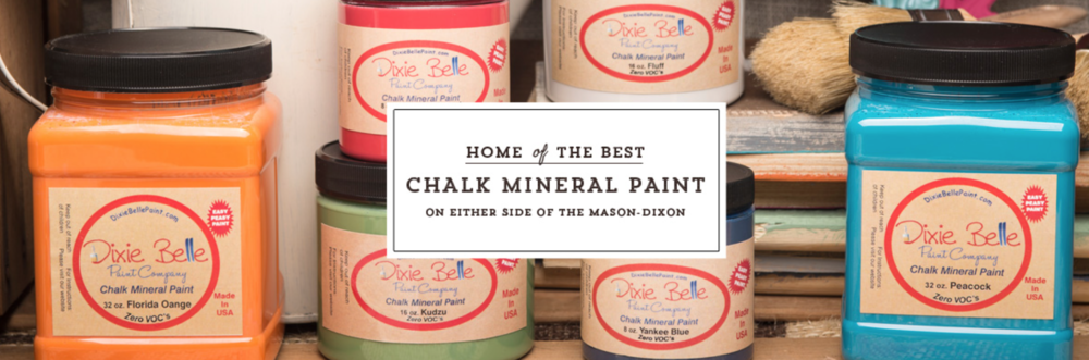 Dixie Bell Chalk Paint Review - whatthegirlssay.com