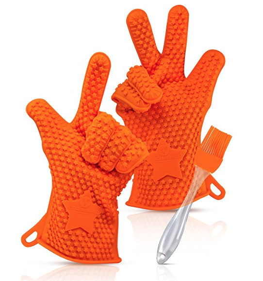 Kitcheneed BBQ Gloves Review - whatthegirlssay.com