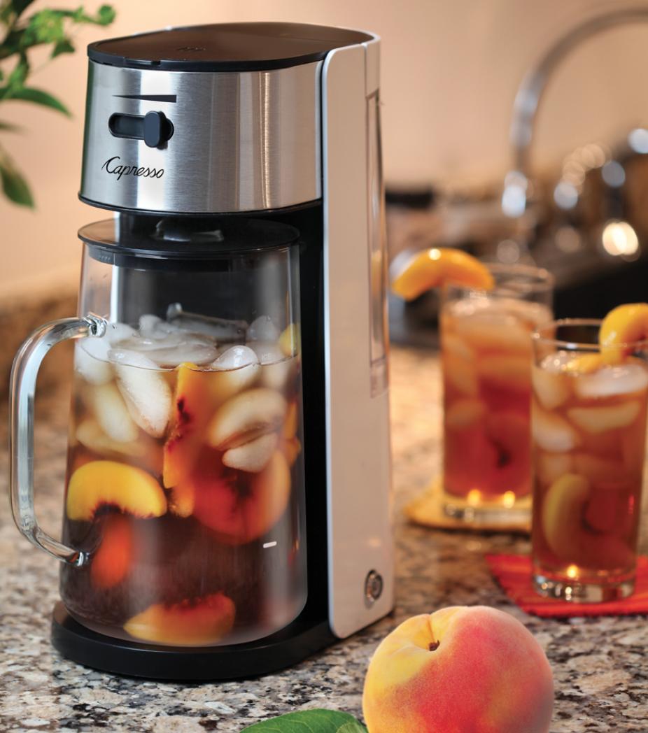 Capresso Iced Tea Maker Review - whatthegirlssay.com
