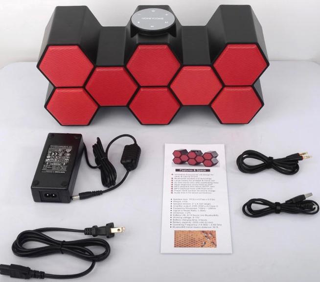 Honeycomb Sound Speaker Review - whatthegirlssay.com
