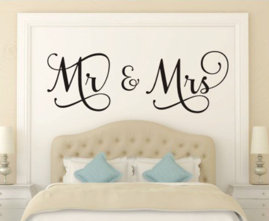 Newlywed gift ideas mr. and mrs. - whatthegirlssay.com