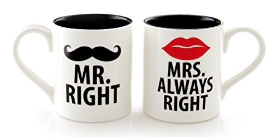 Mr. and Mrs. Gift ideas - whatthegirlssay.com