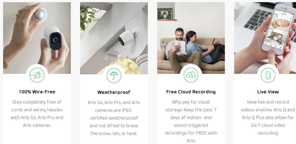 Arlo Pro Security Camera Review - whatthegirlssay.com