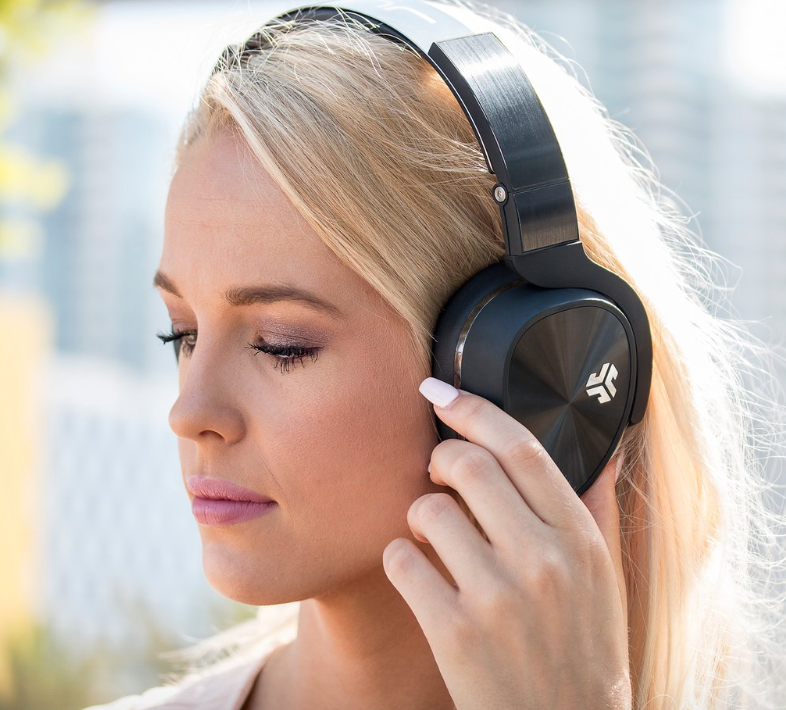 JLAB Audio Flex Bluetooth Active Noise Canceling Headphones - whatthegirlssay.com