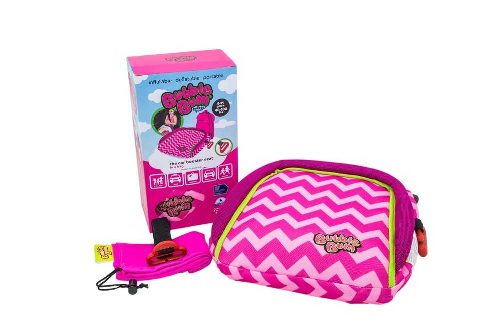 Bubble Bum Booster Seat Review - whatthegirlssay.com