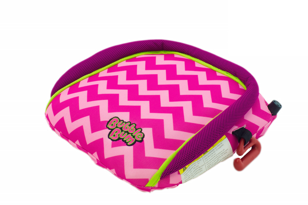 BubbleBum Booster Seat Review - whatthegirlssay.com