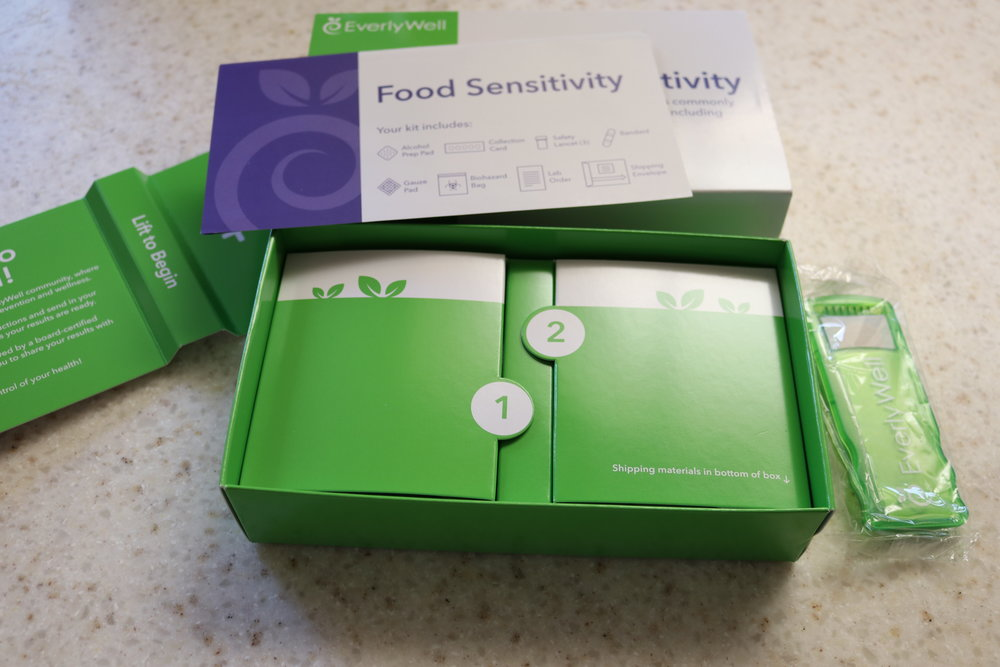 EverlyWell Review - Food Sensitivity Test - whatthegirlssay.com