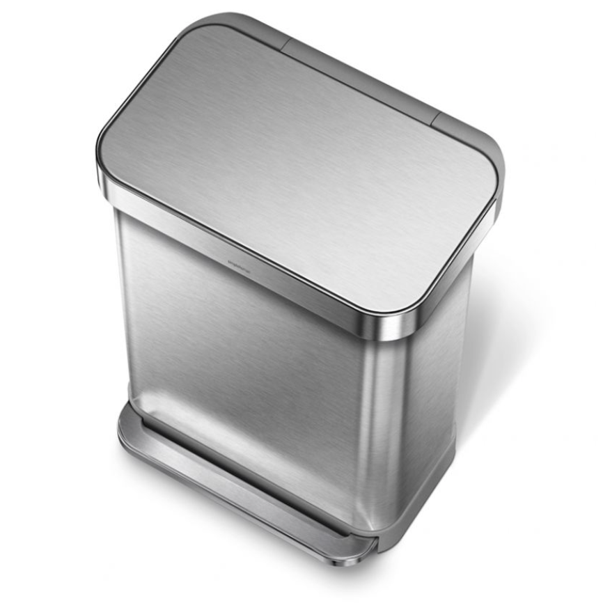 SimpleHuman Trash Can Review - whatthegirlssay.com