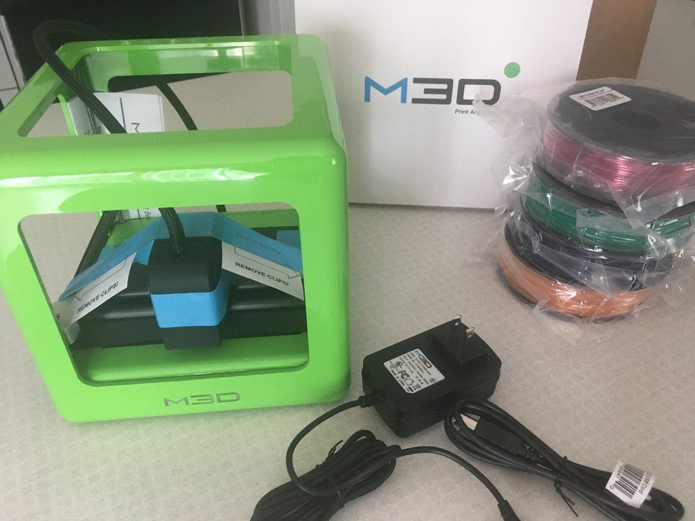 M3D 3D Printer Review - whatthegirlssay.com