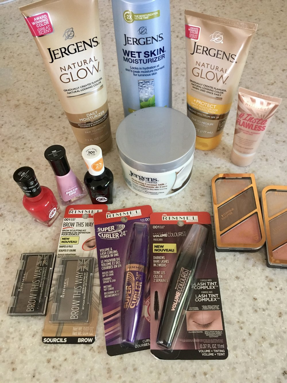 Summer Beauty Favs - whatthegirlssay.com Rimmel London, Sally Hansen, Jergen's