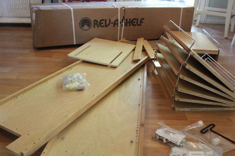 Rev-a-shelf pantry pull out unit - review wwhardware.com - whatthegirlssay.com