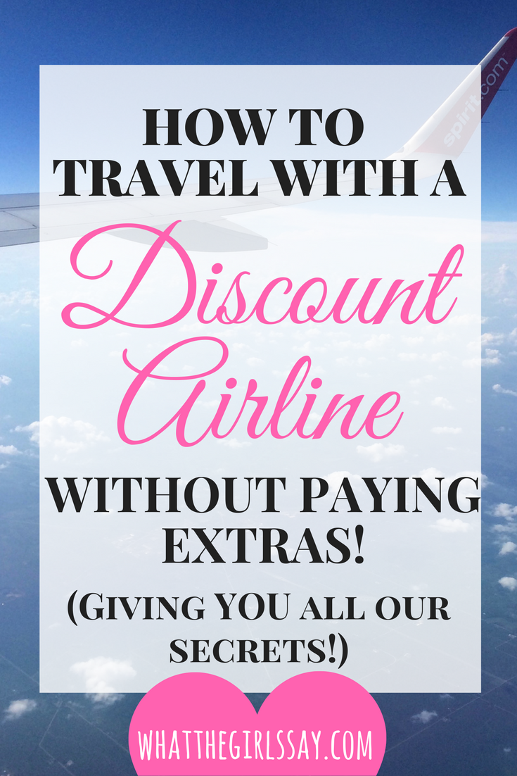How to Travel with Discount Airlines