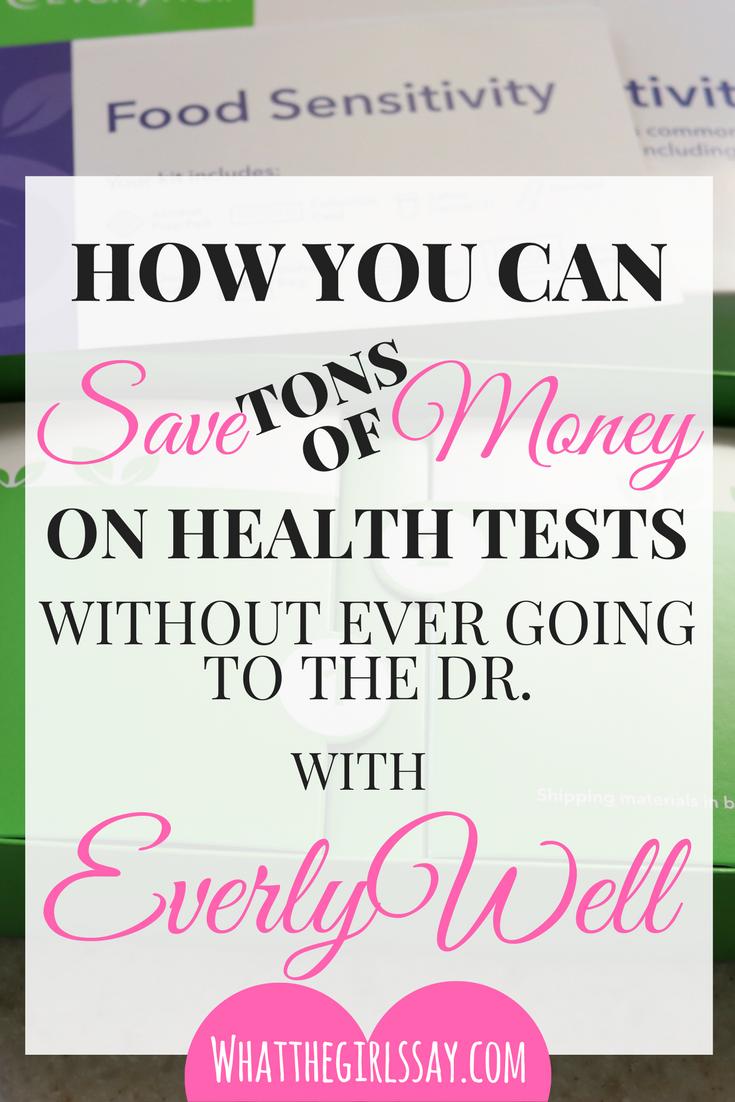 EverlyWell Review - Food Sensitivity Test Review - whatthegirlssay.com