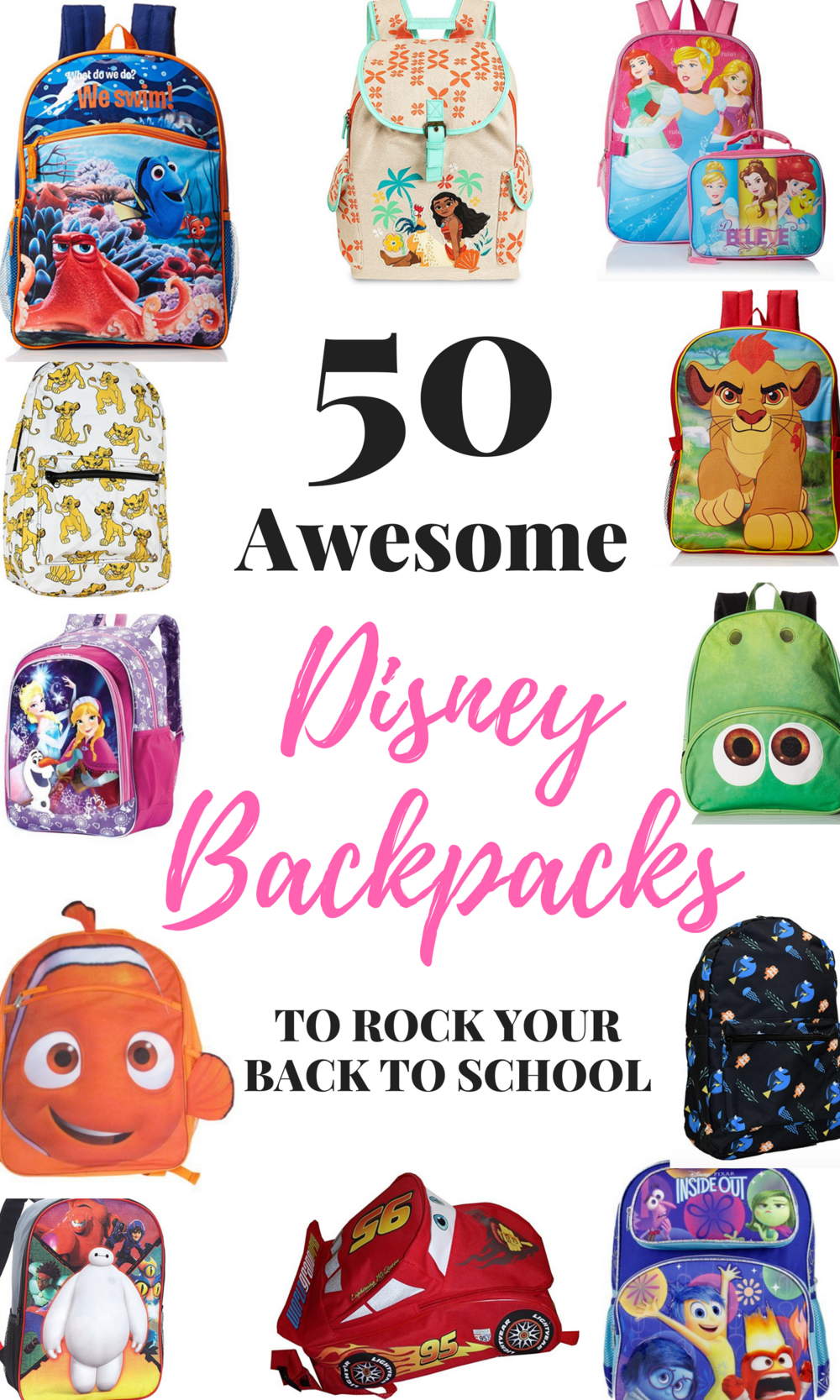 Top Disney Backpacks for Back to School