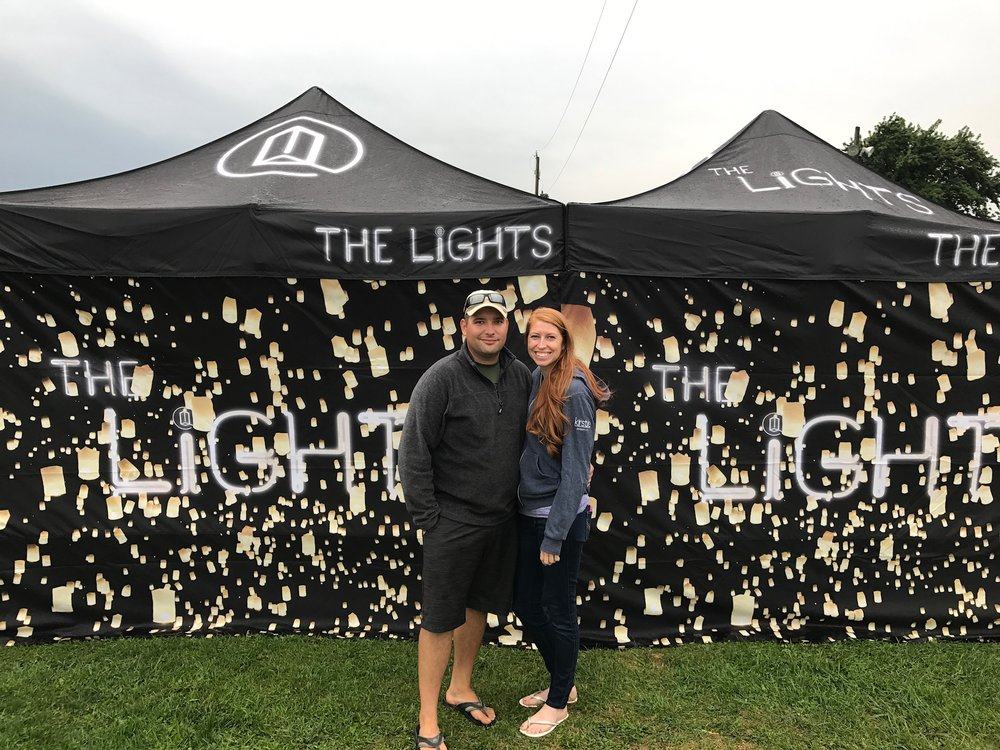 the lights fest review - sky lantern events