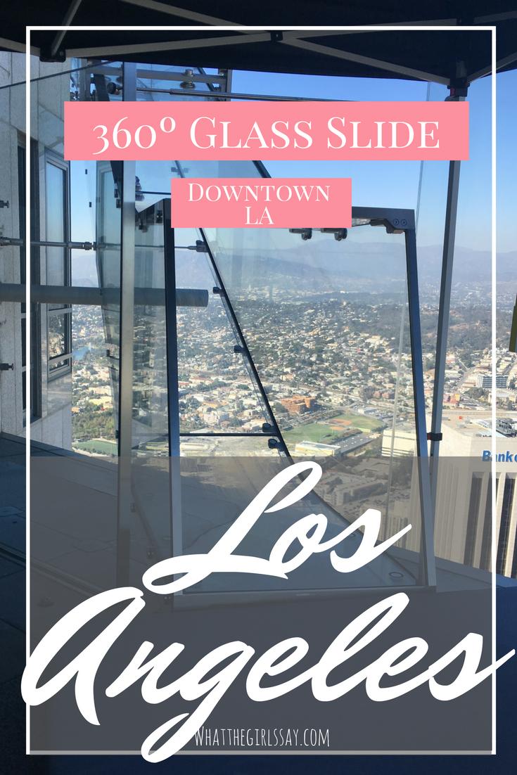 OUE SkySpace LA - Glass Slide in Los Angeles
