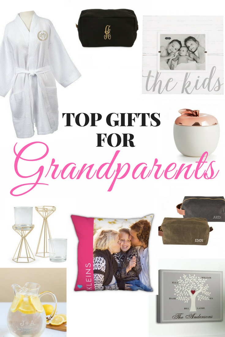 Personalized Gifts For Grandparents — Our Kind of Crazy