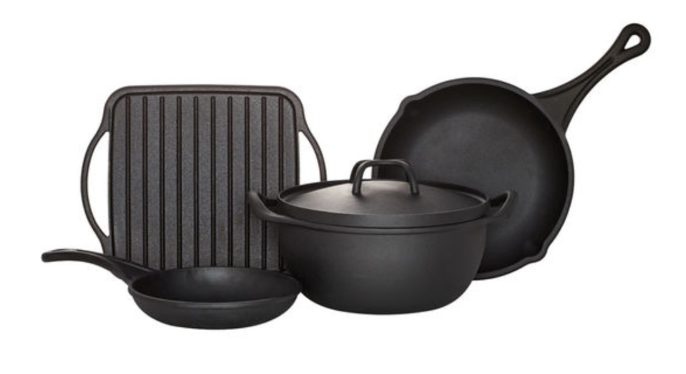 Cast Iron Pans from Pfaltzgraff
