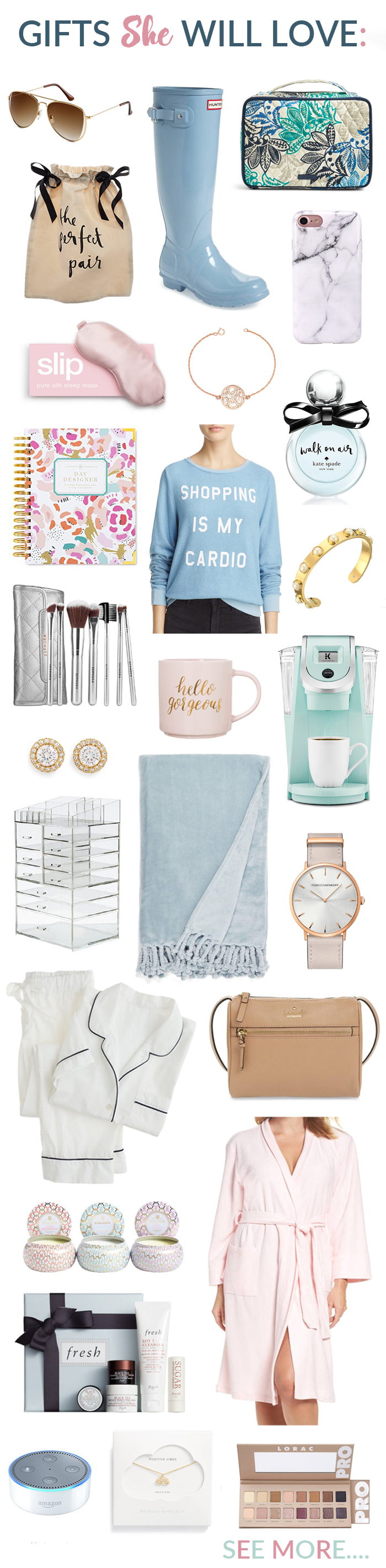 Top Gifts for Her for this Holiday Season More in post!