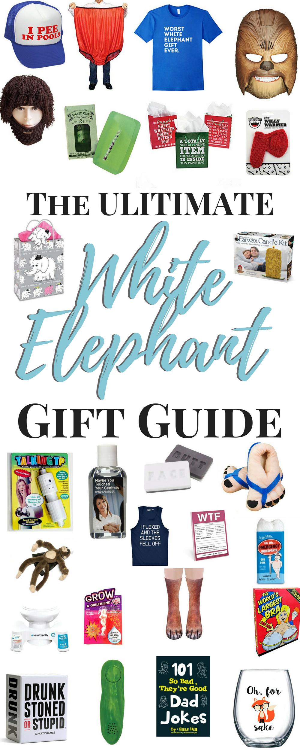 Blog whatthegirlssay white elephant gift ideas solutioingenieria Images