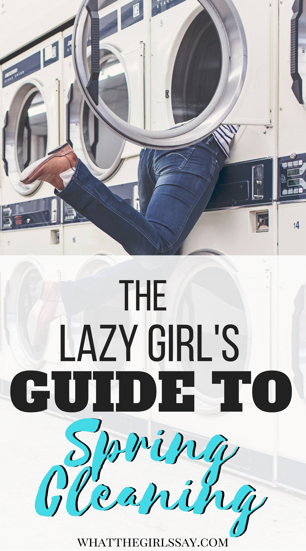 The Lazy Girl's Guide to Spring Cleaning - How to tackle your Spring Cleaning a little at a time