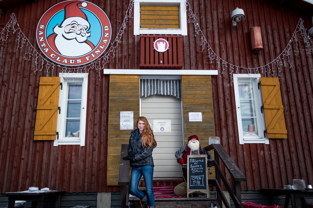Santa's Seaside Office - Kemi Finland - Things to do in Lapland Finland