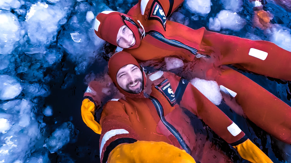 Floating in the Ice waters - Icebreaker Sampo Cruise Kemi Finland - things to do in Lapland Finland