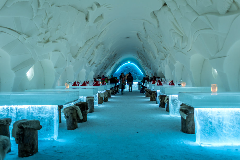 Things to do in Lapland Finland - Ice restaurant Kemi
