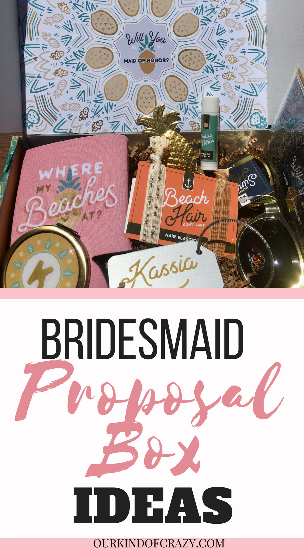 Bridesmaid Proposal Box Ideas