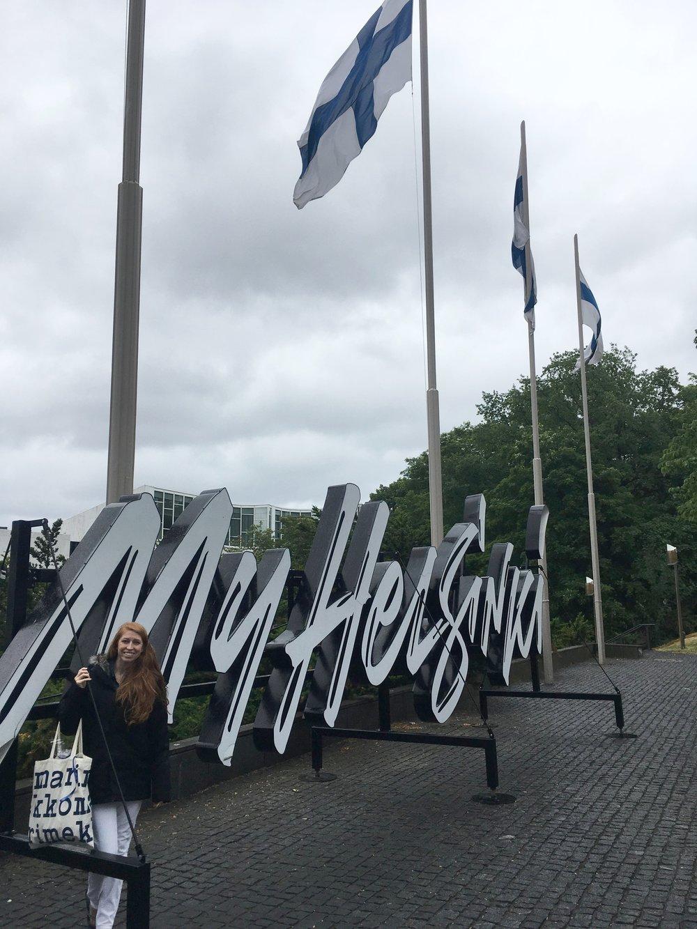 myhelsinki sign - what to do in helsinki