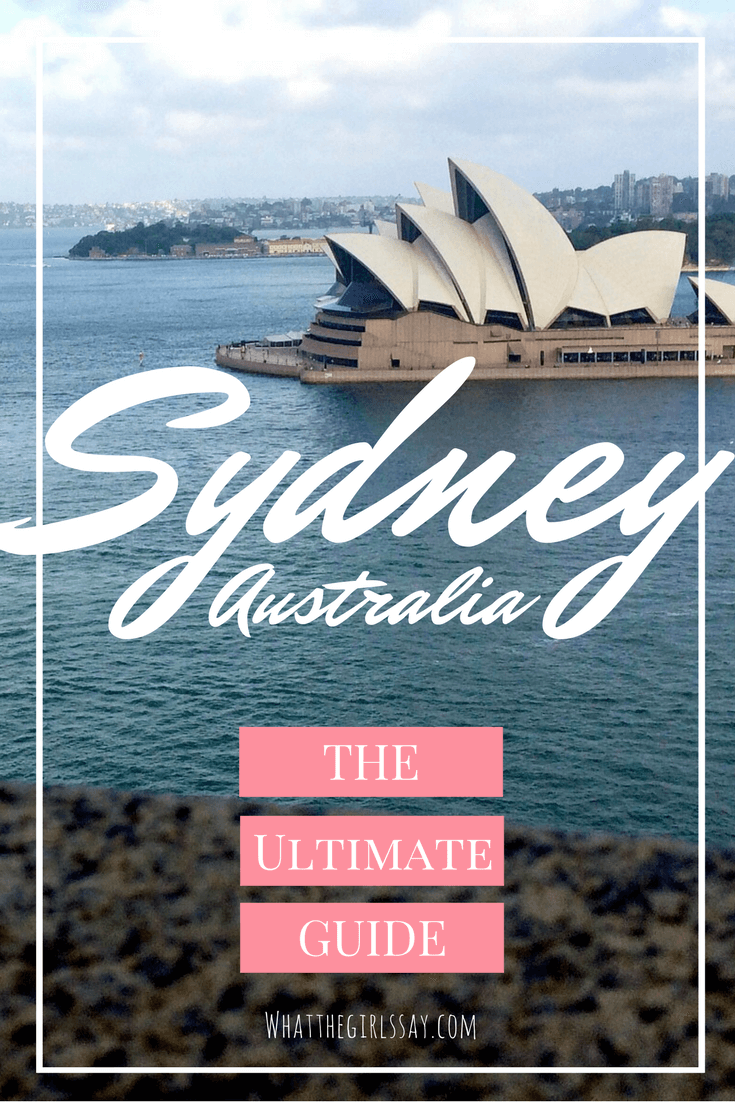 Ultimate Guide to Sydney - Looking for awesome things to do in Sydney, Australia? Here are some great must see places in Sydney