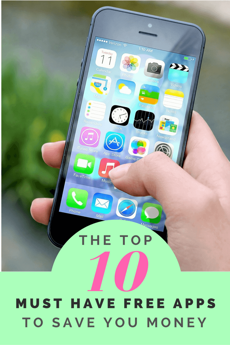 Must Have FREE Apps savingsaplenty - Free Apps to Save you money - How to save money on your phone