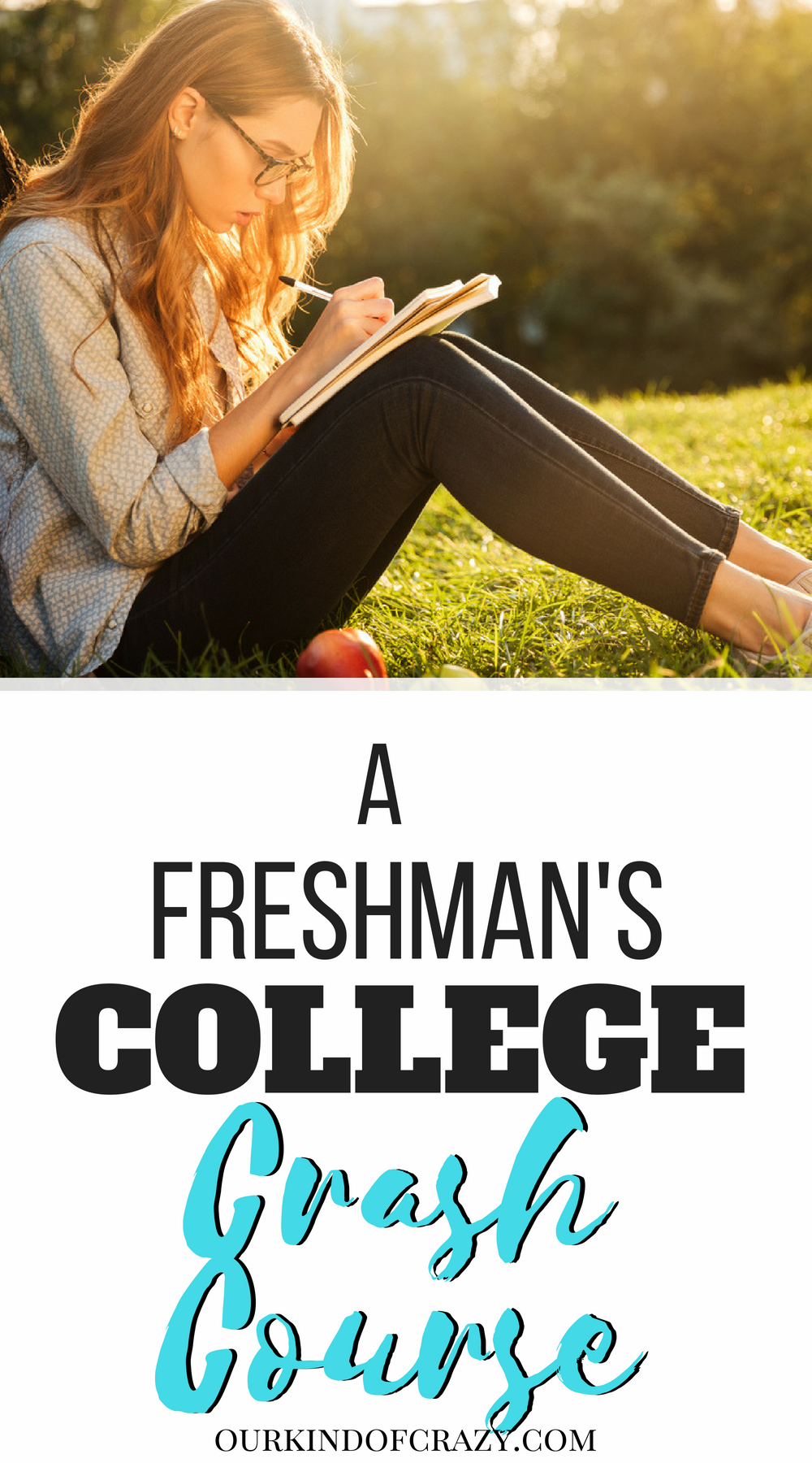 Freshman's College Crash Course. What you need to know before starting college. #collegetips