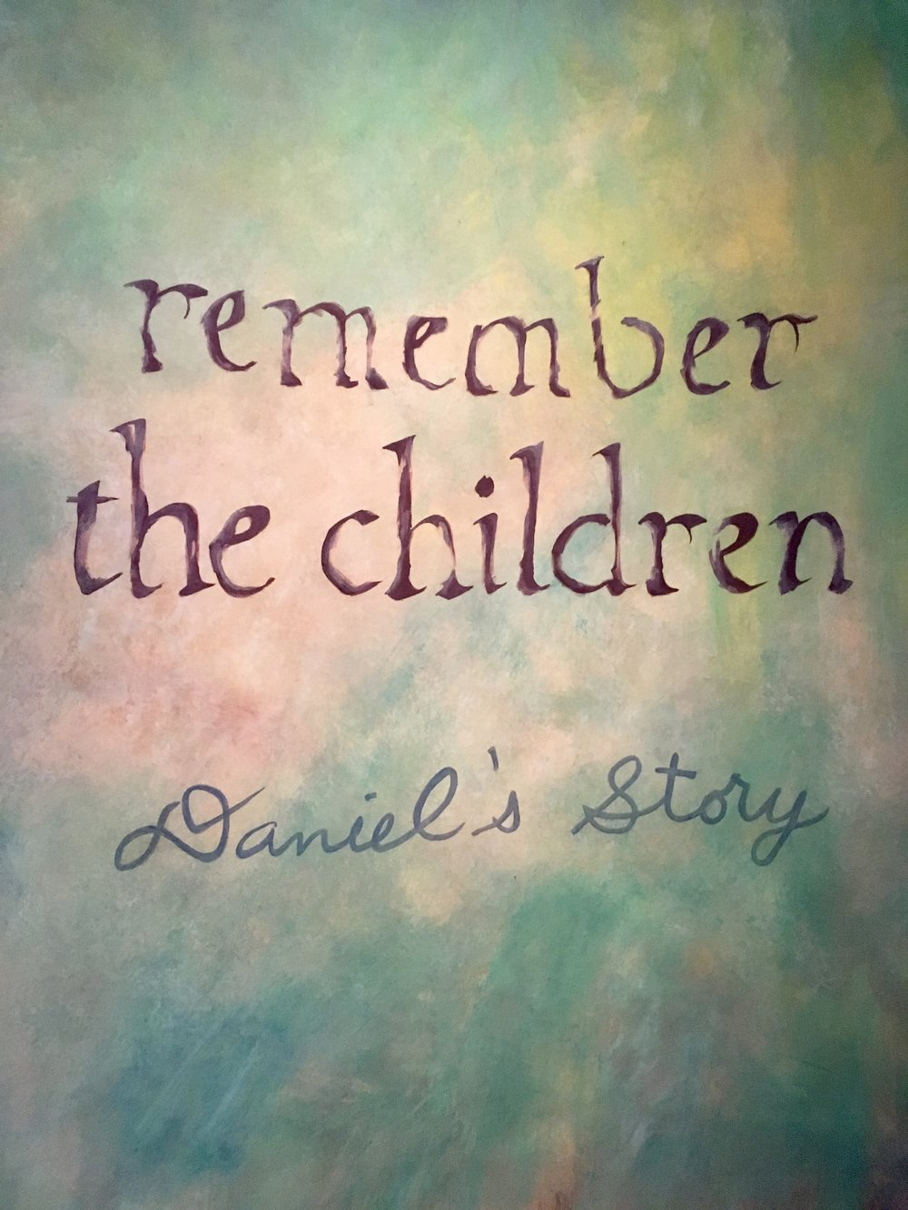 Daniel's Story Holocaust Museum Washington DC.  Free things to do in Washington DC