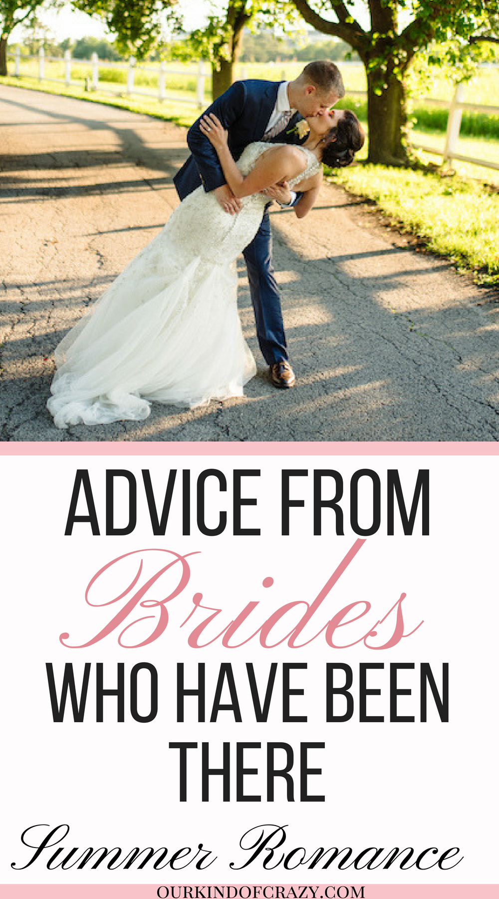 Wedding Planning Advice, Summer Romance Wedding. Advice from past brides.