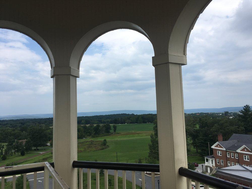 Cupola Lookout at Seminary Ridge, Gettysburg Pennsylvania