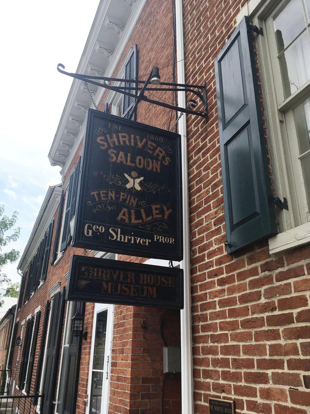 Gettysburg Town Sign