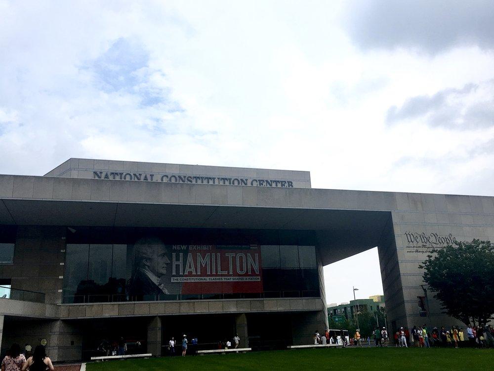 national constitution center Philadelphia