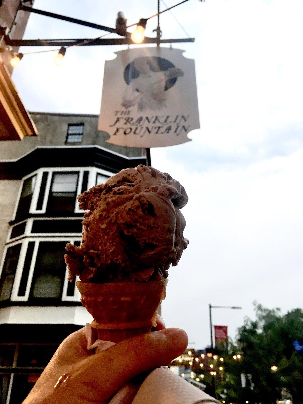 The Franklin Fountain Ice Cream Penn's Landing Philadelphia
