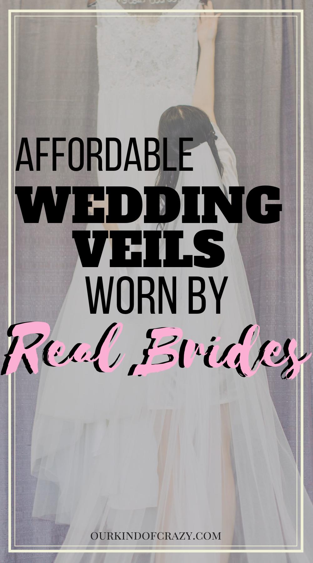 Best Wedding Veils From Amazon-Cheap wedding veils