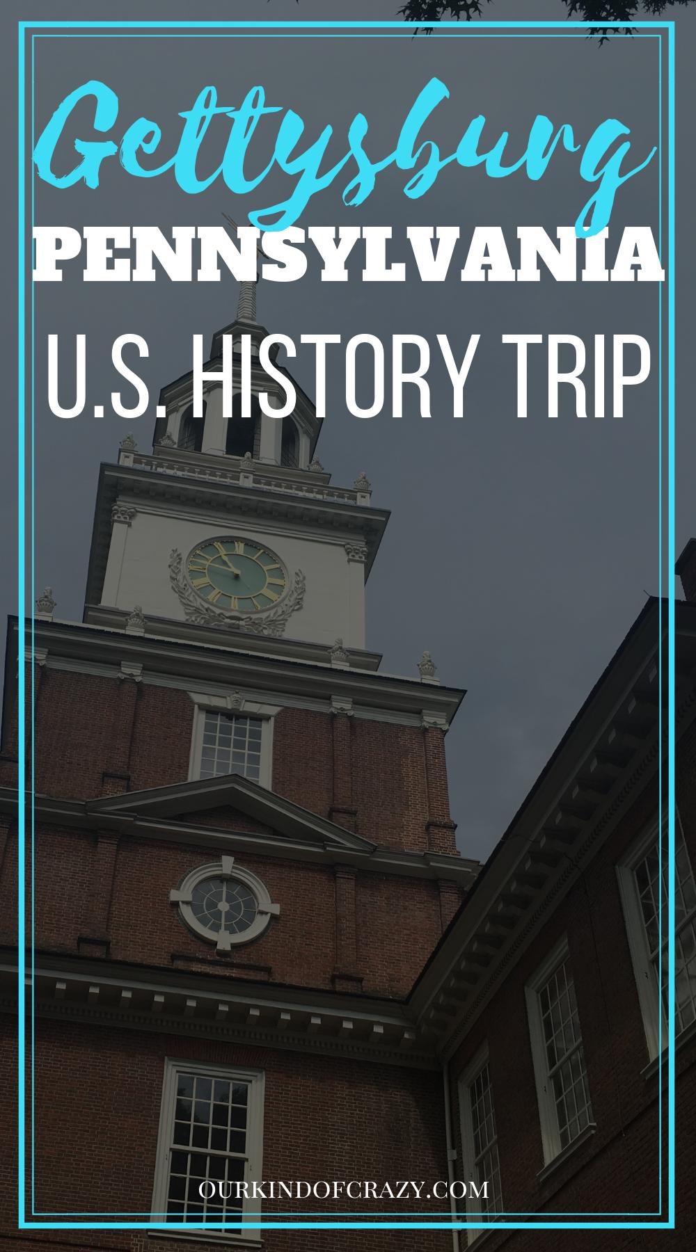 US History Tour of Gettysburg and Philadelphia - What to do in Gettysburg, What to do in Philly, Things to do in Philadelphia and Gettysburg