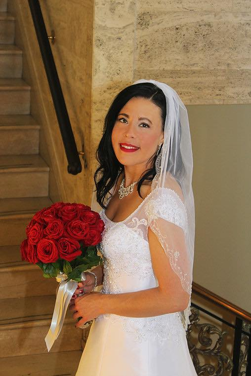 1 or 2 Tier Ivory Wedding VeilS with Embroidery of Pearls, Sequins, and Rhinestones