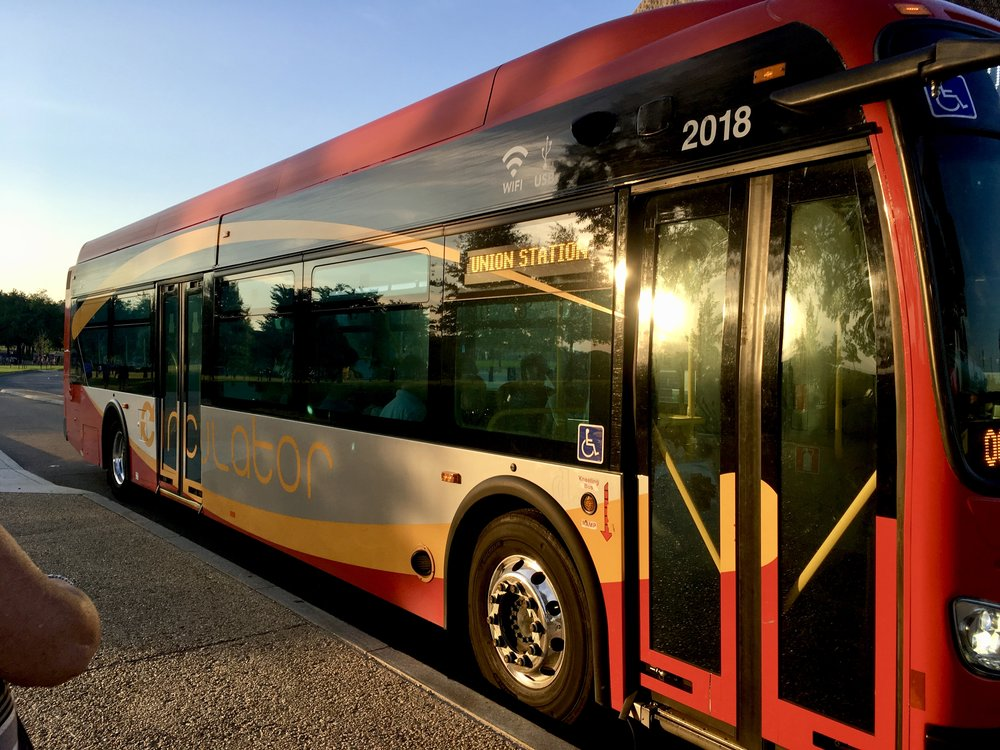Circulator Bus Washington DC