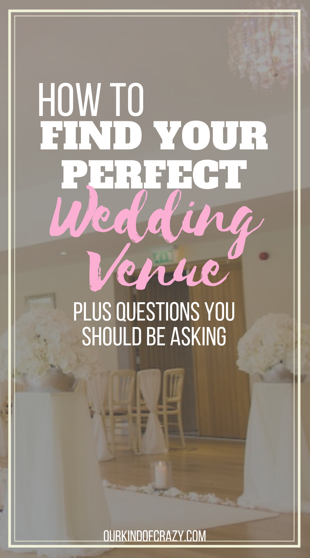 How to Find Your Perfect Wedding Venue. Plus all the questions you should ask your venue before signing a contract.