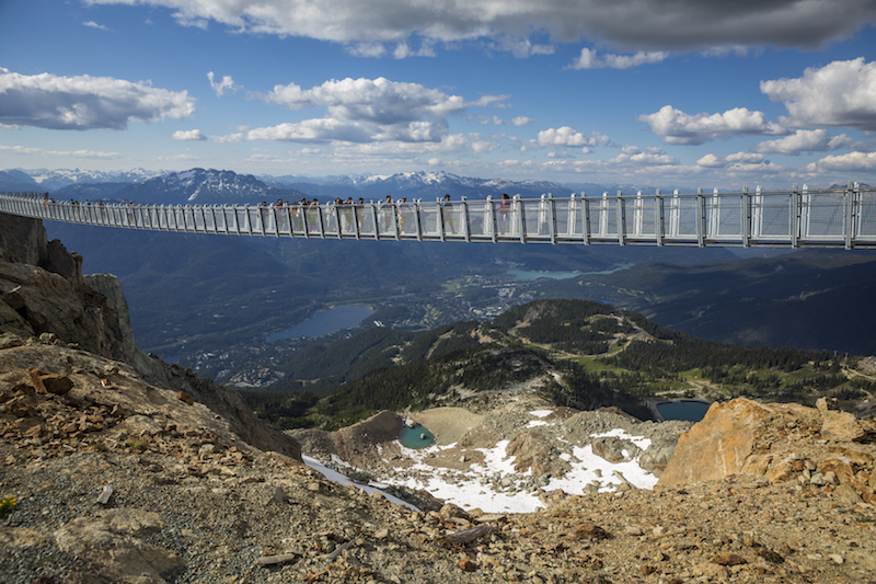 Things to do in Whistler Canada - Cloudraker Skybridge