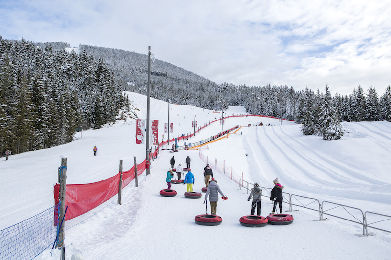 Things to do in Whistler Canada snow tubing