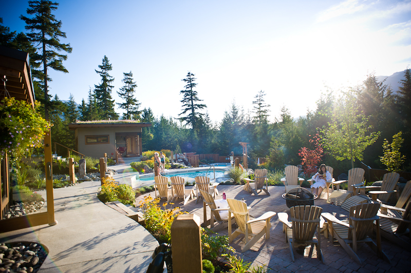 Things to do in Whistler Canada spa trip