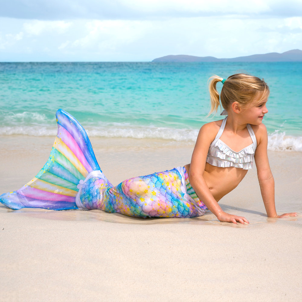Fin Fun Mermaid Tails and Leggings - What do you do when your little girl loves Mermaids and Unicorns? You get her this fun Unicorn Mermaid Tail! Fin Fun has so many great mermaid tails that will transform your little girl into the mermaid she dreams of. They sell both mermaid tails that are just skirts and mermaid tails that you can add a swim monofin as well. So your little one can learn to swim just like a mermaid. They even come in Adult sizes too! Dress up like a mermaid, or swim like a mermaid, you can do both with these cute tails. Fin Fun also has a great line of Mermaid Leggings for the girl on-the-go. You can have scales just like Ariel, and still be able to walk on 2 legs. (They come in adult sizes too!) Don't forget to check out their Limited Edition and Atlantis tails too! You're sure to find your perfect fin.