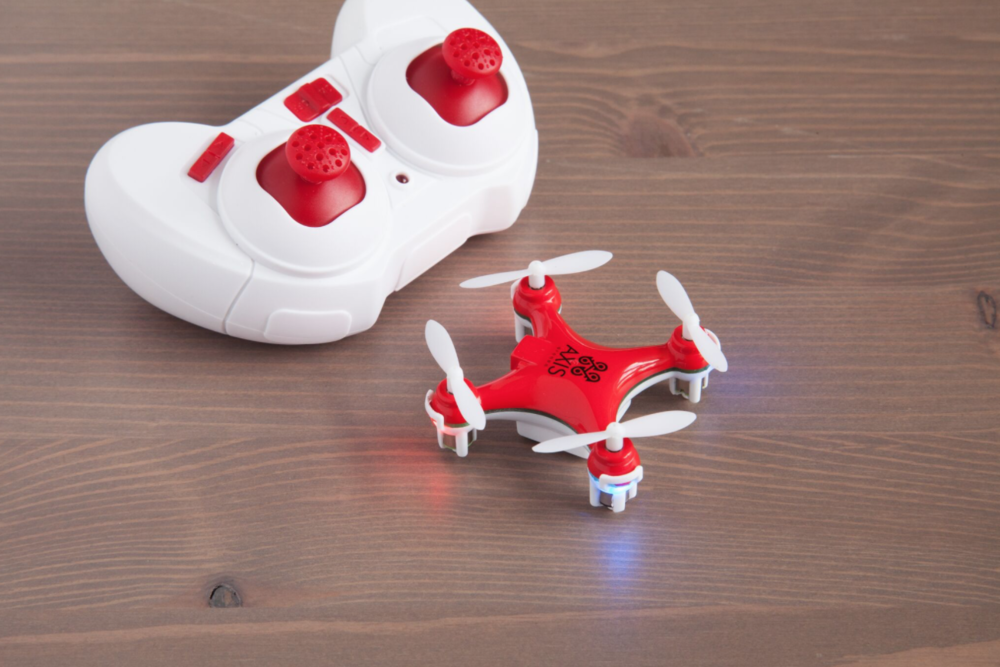 TURBO-X Drone-The Grommet - So your child wants a drone? This Turbo-X Drone is the perfect start to drone flying. It's a mini drone, that has a lot to show off. It's a little more than an inch and a half around, but it has a lot of awesome tricks up its sleeves. Turbo-X Drone has a pre-programmed 360-degree 3D rolls and flips algorithm, so you'll look like a professional drone pilot with ease. It takes 20 minutes to charge, and gives you 5-7 minute flight time after each charge. It can also fly up to 30 MPH! It has 3 speeds to get you ready to fly the drone, and is an outdoor drone only. If your child wants a drone, this is the perfect, budget-friendly option with some really cool tricks.