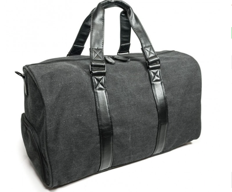 The Charcoal Metro Duffel - Mobile Edge - For all the travelers on your list. Check out Mobile Edge. They have serval totes, duffles, briefcases, backpacks, and laptop cases available in all different sizes and colors. We loved the Charcoal Metro Duffle bag. It is a great bag for a weekend trip, and is great for a carry-on size, so you don't have to worry about extra baggage fees. It has a separated shoe/dry compartment, so you can keep all your wet items away from your clothes and other items in the bag. Inside is an accessories pocket, so you don't lose all your little things inside. It has heavy-duty rubber feet to help keep your duffel off the ground, and even has an adjustable and removable shoulder strap as well. We also grabbed a laptop sleeve to protect our computer while we're traveling, and it can slip right in the bag with ease. Traveling is made easier with these items, and we recommend you checking out their site to see what would be a great option for the man on your list!